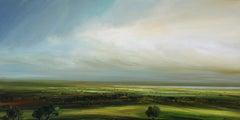 First Light - original landscape England Nature countryside artwork contemporary