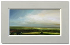 First Light - original landscape oil painting contemporary Art-21st C modern