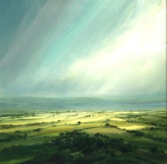 New Day 2 - landscape oil painting contemporary art 21st Century