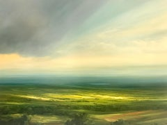 New Day  landscape oil painting- Contemporary-21st Century Art