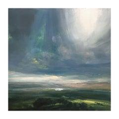 Sunlit Waters, Contemporary British Landscape Original Painting