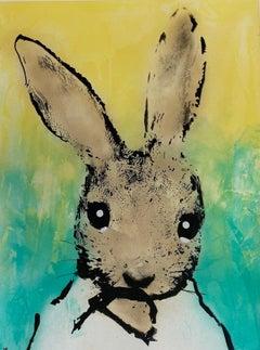 Harry Bunce, Sorry #123, Contemporary Art, Mixed Media Art, Animal Art