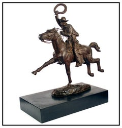 Harry Jackson Original Bronze Sculpture Horse Signed Hazin The Leaders Antique