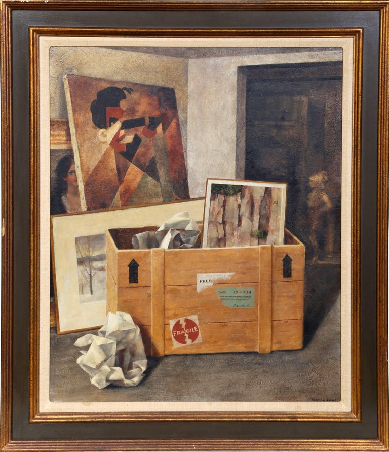 Harry Lane Still-Life Painting - Art Shipping and Receiving