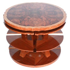 Harry & Lou Epstein Art Deco Nest of Tables