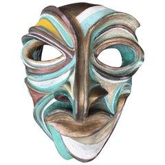 Harry Matias Hand-Built Ceramic Mask