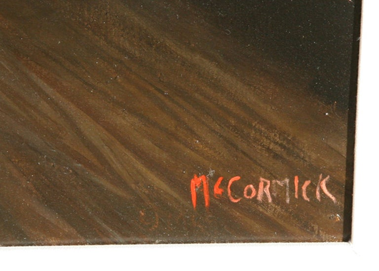 Downey's, Restaurant Interior Painting by McCormick For Sale 2