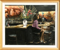 Emilio's, Photorealist Oil Painting