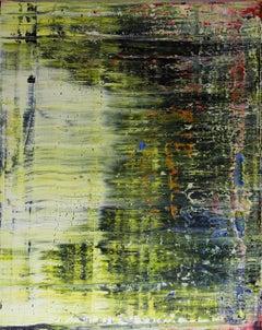 abstract grey green #347