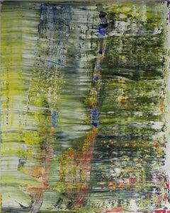 abstract grey green #348