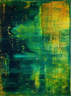 abstract with green #489