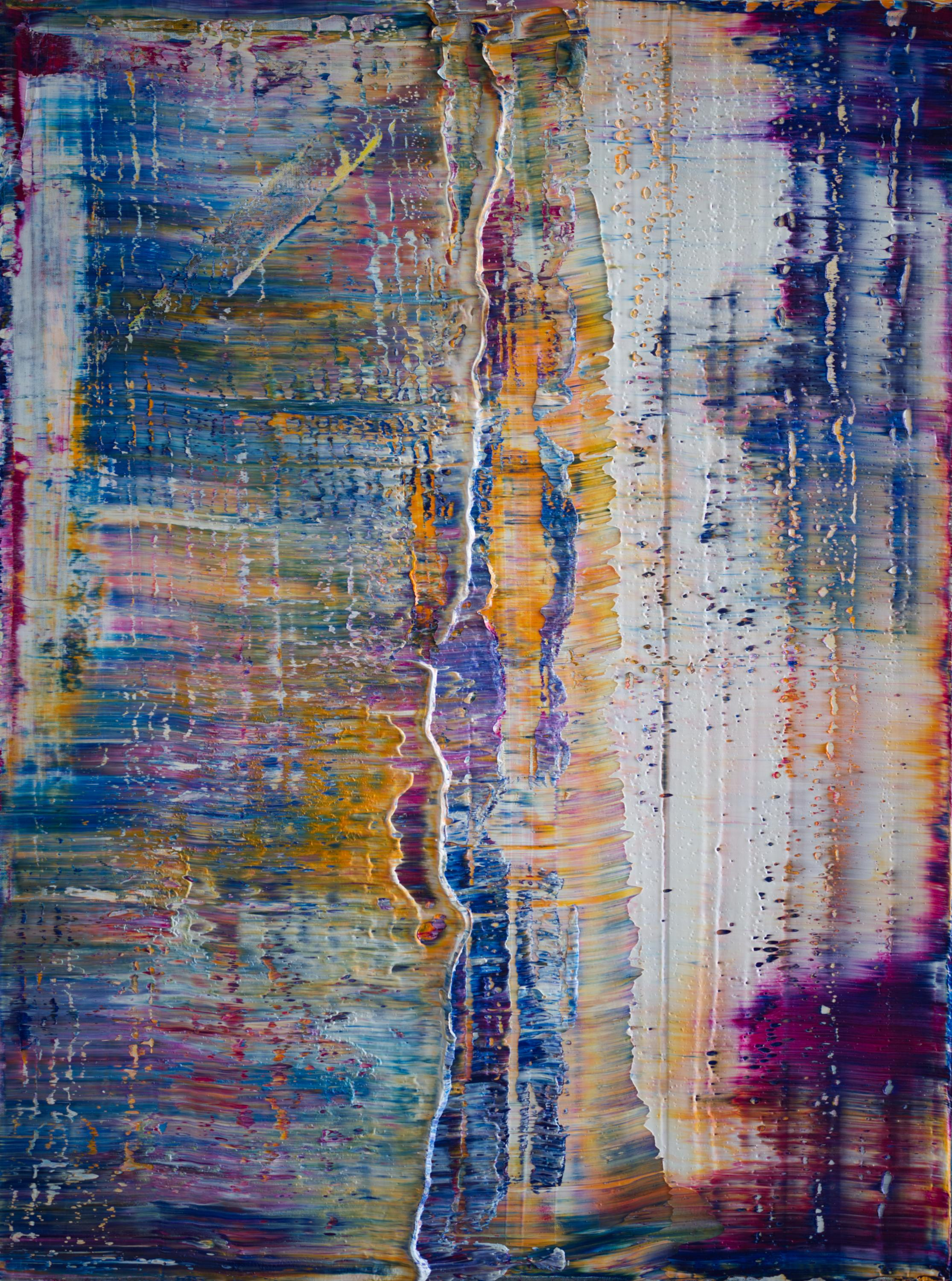 American Contemporary Art by Harry James Moody - Abstract n°545