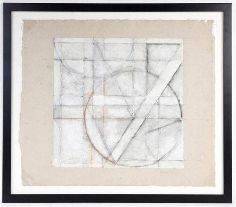 Mixed media on handmade paper Signed and dated by the artist lower right Archival framing with Conversation Glass Regarding the artist: Select Exhibition: 1991  Franz Bader Gallery, Washington, D.C. (solo) 1980  Guggenheim Museum, New York, NY 1974
