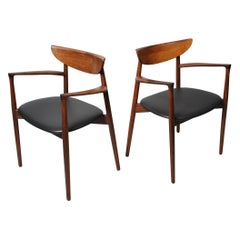 Harry Ostergaard, Pair of Midcentury Chairs