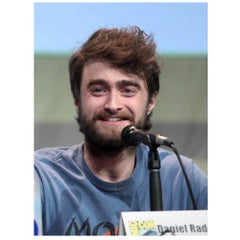 Harry Potter Star Daniel Radcliffe Authentic Strand of Hair, 21st Century