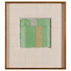 Harry S. Tsuchidana, Untitled, Color Block Style Painting, United States, 1979