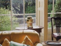 House in Wales - Urn in Window - Interior - Contemporary