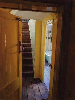 Rainthorpe - Stairs by Bathroom