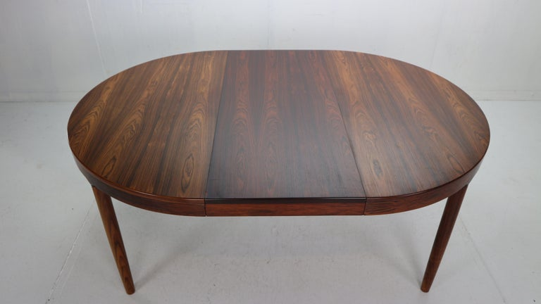 Harry Østergaard for Randers Møbelfabrik Danish Extendable Round Dinning Table 14
