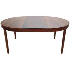 Harry Østergaard for Randers Møbelfabrik Danish Extendable Round Dinning Table