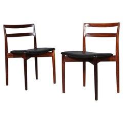 Harry Østergaard, Pair of Side Chairs