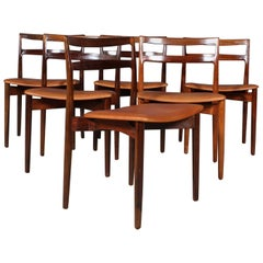 Harry Ostergaard, Set of Dining Chairs