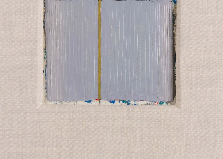 Harry Tsuchidana, Untitled, Color Block Style Painting, United States, 1979 In Good Condition For Sale In New York, NY