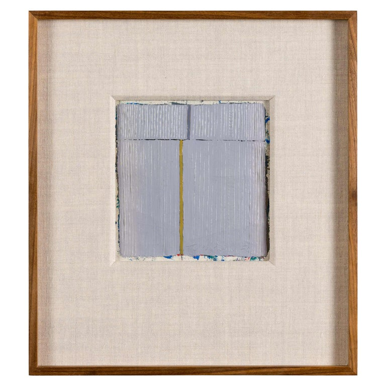 Harry Tsuchidana, Untitled, Color Block Style Painting, United States, 1979 For Sale
