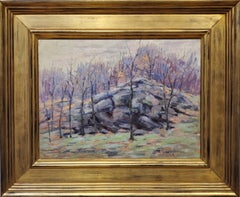 Impressionist Landscape Oil Painting by Harry W. Newman