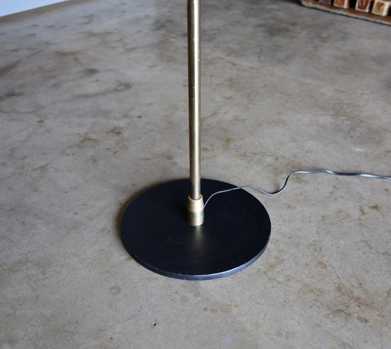 "Mid-Century Modern Harry Weese ""Baldry"" Indirect Floor Lamp, circa 1945 For Sale"