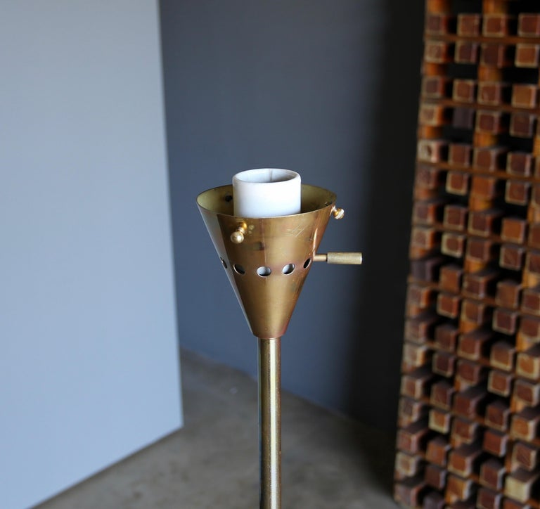 "Harry Weese ""Baldry"" Indirect Floor Lamp, circa 1945 For Sale 1"