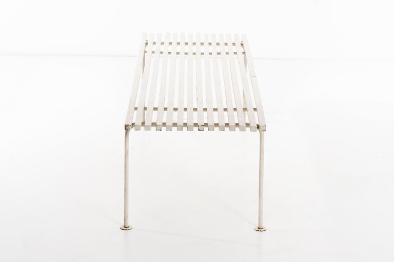 American Harry Weese Slat Bench For Sale