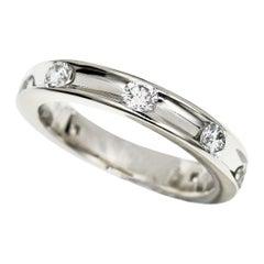 Harry Winston 0.68 Carat Diamond Platinum Voila Wedding Band Ring