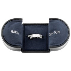 Harry Winston 10.36 Carat Diamond Eternity Band Platinum Ring Wedding Band