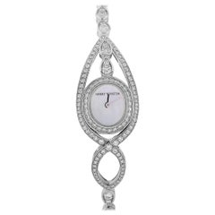 Harry Winston 18 Karat White Gold Diamond Watch