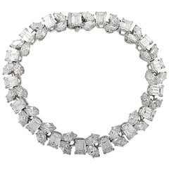Harry Winston 24.17 Carat Diamond Bracelet