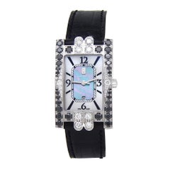 Harry Winston Avenue 310UQW, Mother of Pearl Dial, Certified &