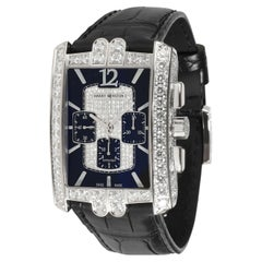 Harry Winston Avenue C 330/MCA Men's Watch in 18kt White Gold