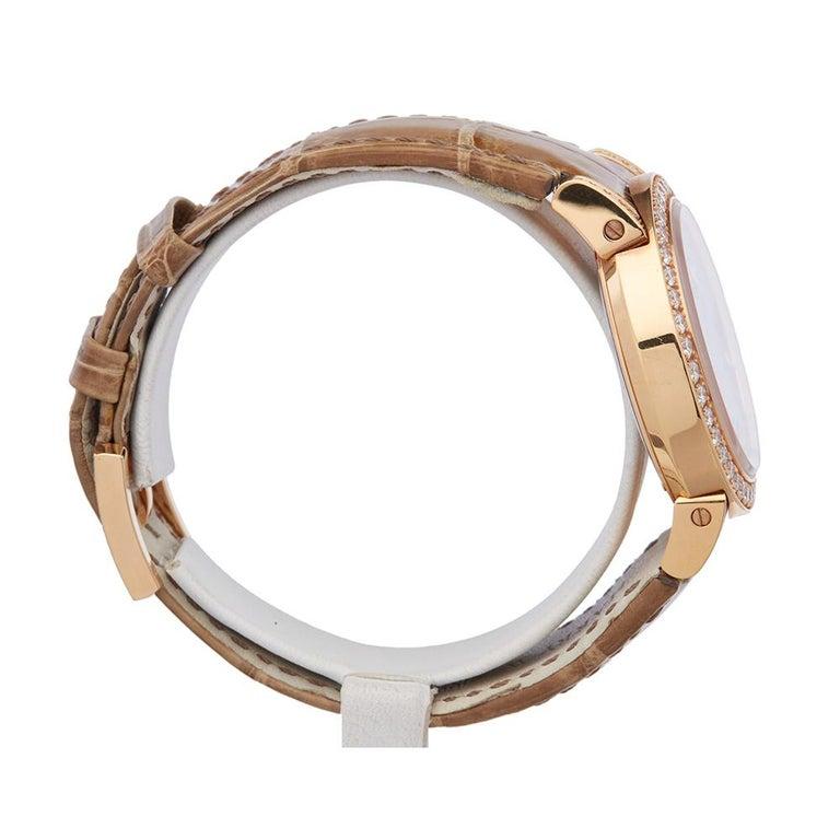 Harry Winston Biretrograde 18K Rose Gold OCEAB136RR023 Wristwatch In New Condition For Sale In Bishops Stortford, Hertfordshire