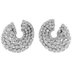 Harry Winston Diamond Flexible Earrings