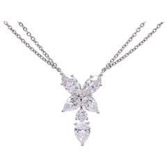 "Harry Winston Diamond ""Marquesa"" Pendant Necklace"