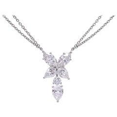 "Harry Winston Diamond ""Marquesa"" Pendant Necklace"