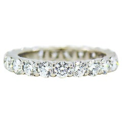 Harry Winston Diamond Platinum Eternity Band 2.40 Carat