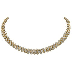 Harry Winston Diamond Riviere Chain Necklace