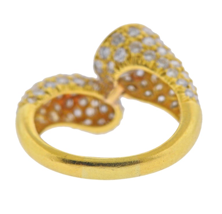 Round Cut Harry Winston GIA 2.24 Carat D VVS2 Diamond Gold Ring For Sale