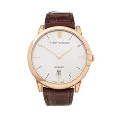 Harry Winston Midnight 18K Rose gold MIDAHD39RR001 Wristwatch