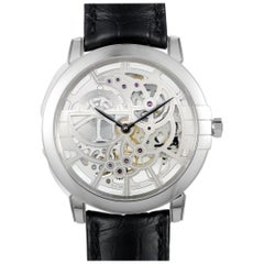 Harry Winston Midnight Skeleton Watch MIDAHM42WW001
