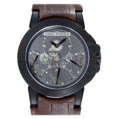 Harry Winston Ocean 400/mcda44zk, Millimeters Black Dial, Certified and Warranty