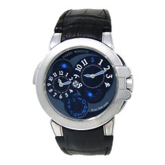 Harry Winston Ocean OCEATZ44WW002, Black Dial, Certified and Warranty