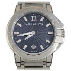 Harry Winston Ocean OCSQHD36ZZ003, White Dial